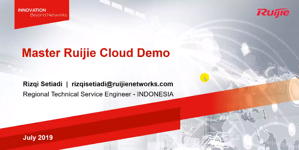Master Ruijie Cloud Demo