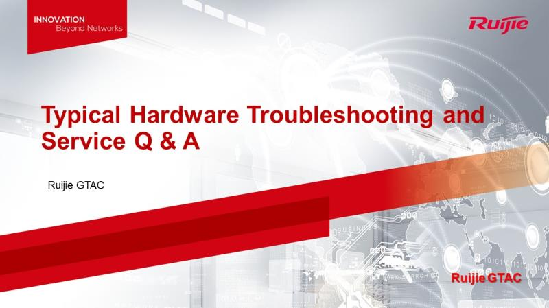 Typical Hardware Troubleshooting and Service Q & A