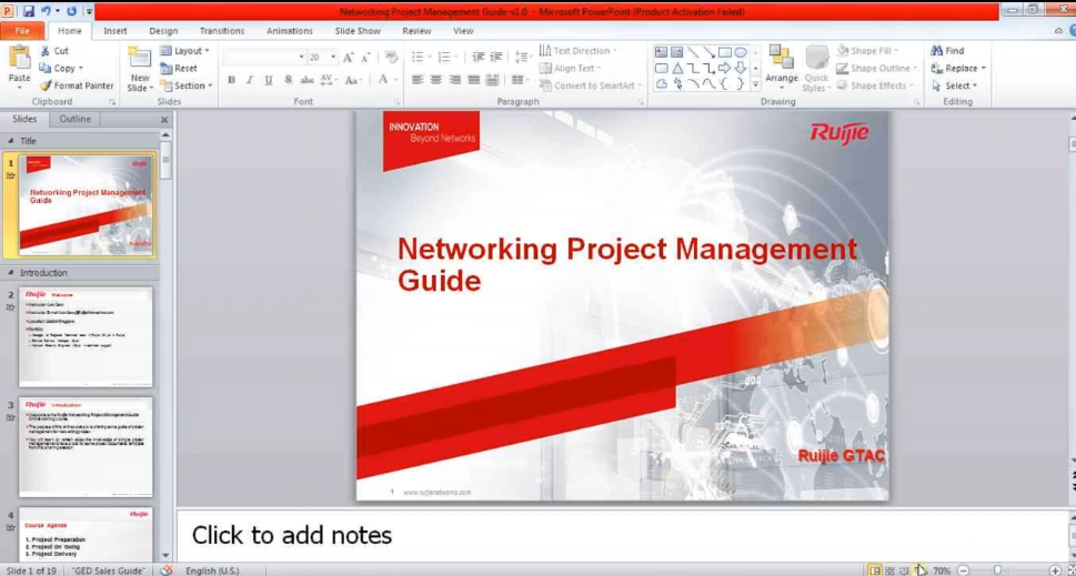 Some Can't-Miss Tips for a Networking Project