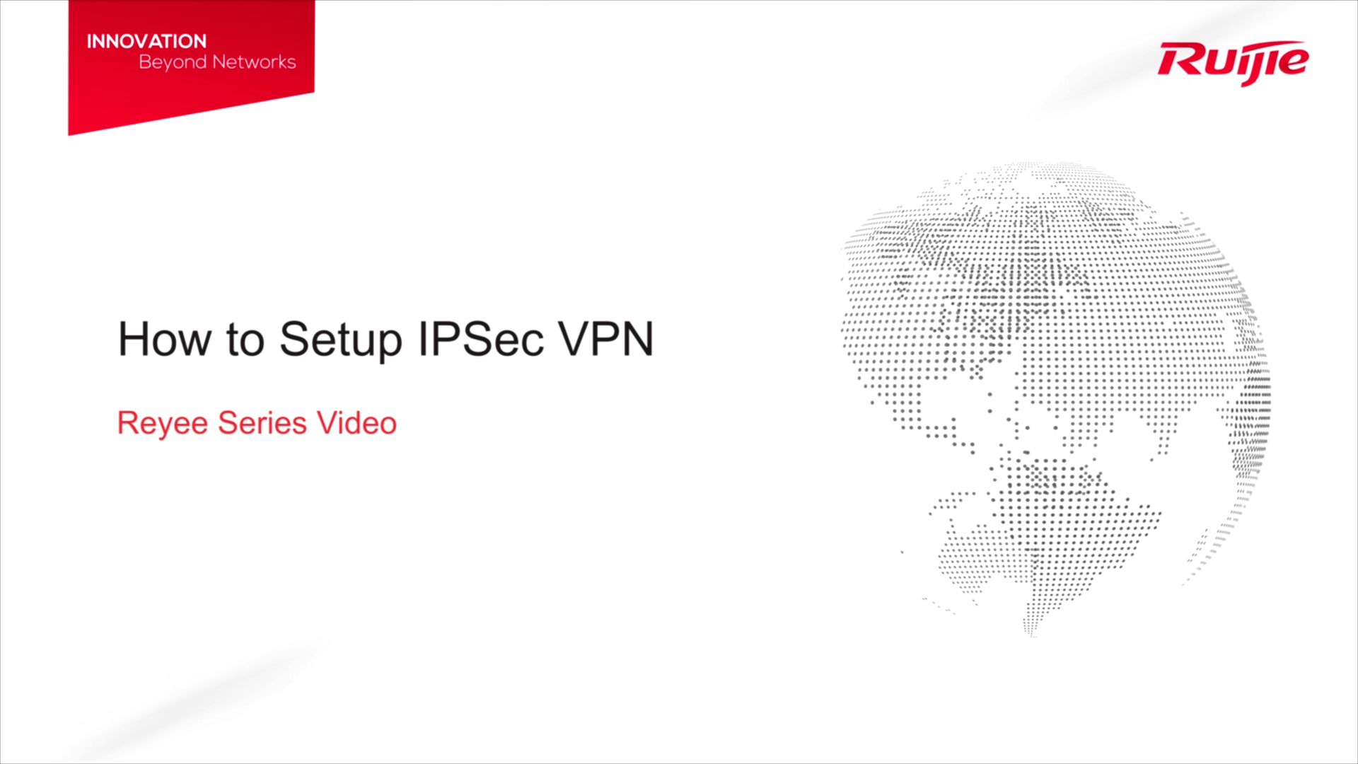 How to Setup IPsec VPN